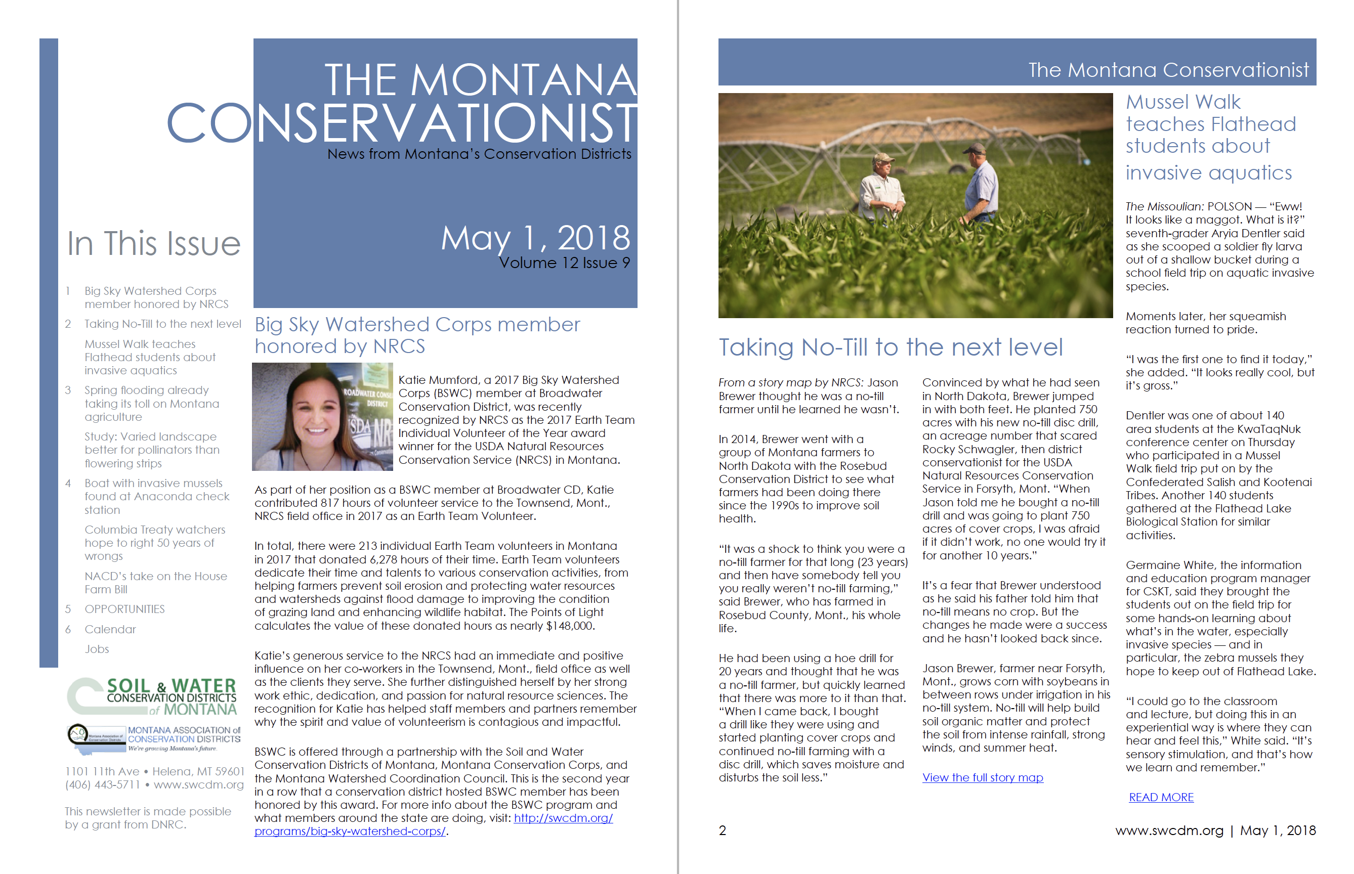 The Montana Conservationist, May 1